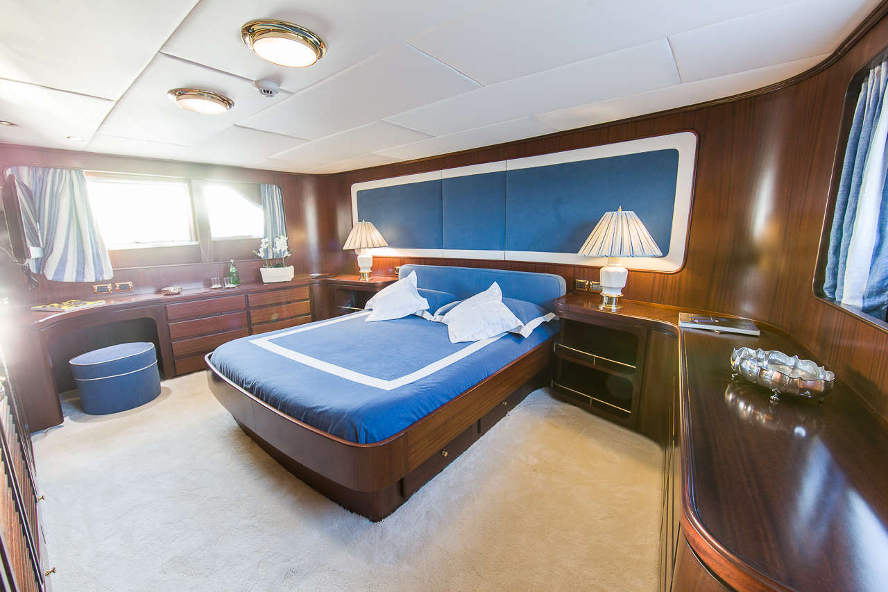 Master stateroom by day | India
