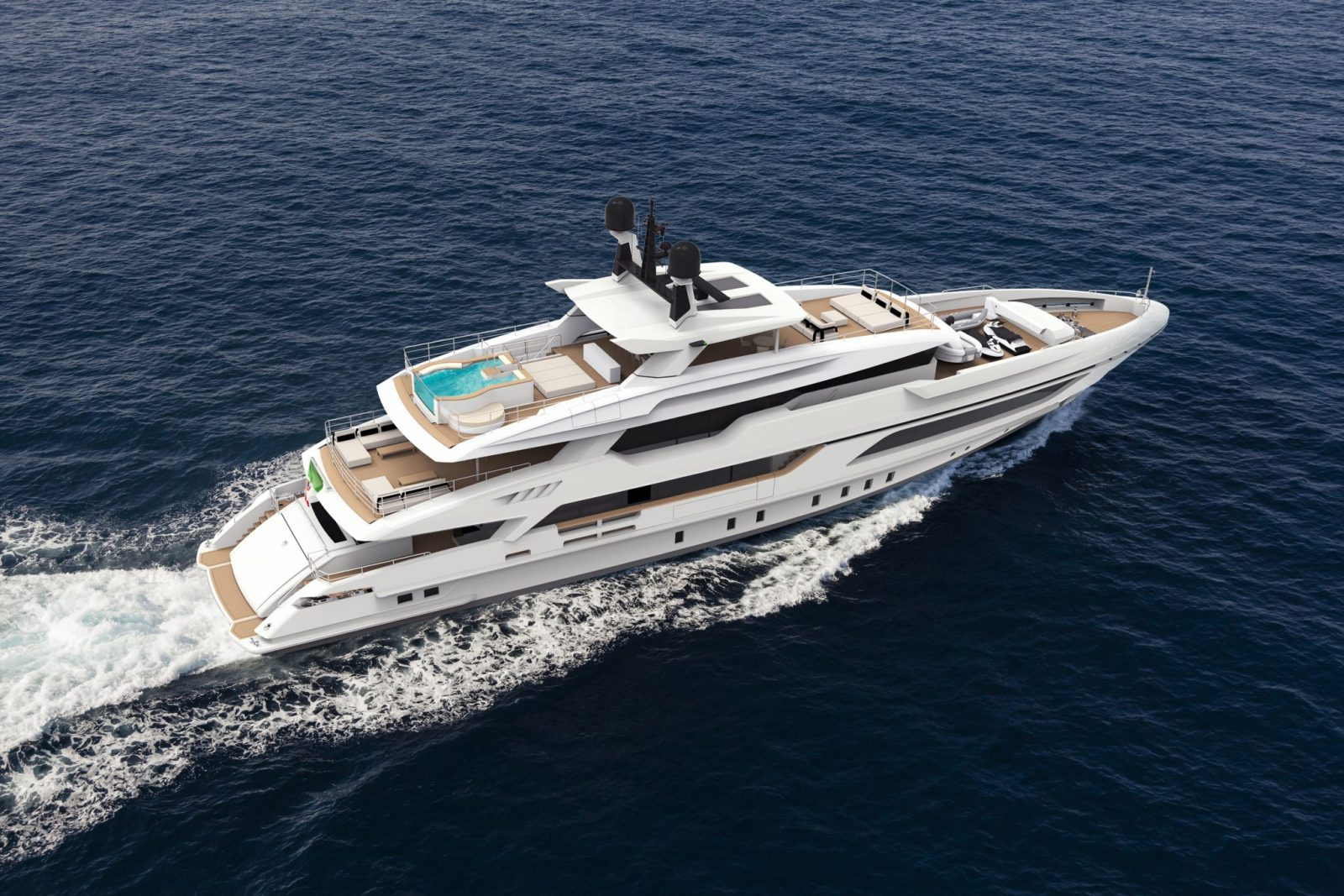 Luxury yacht for Sale | 48M Displacement by Baglietto