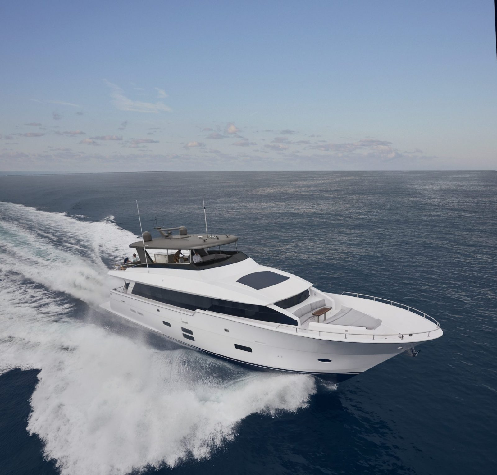 Luxury yacht for Sale | M90 Panacera by Hatteras Yachts