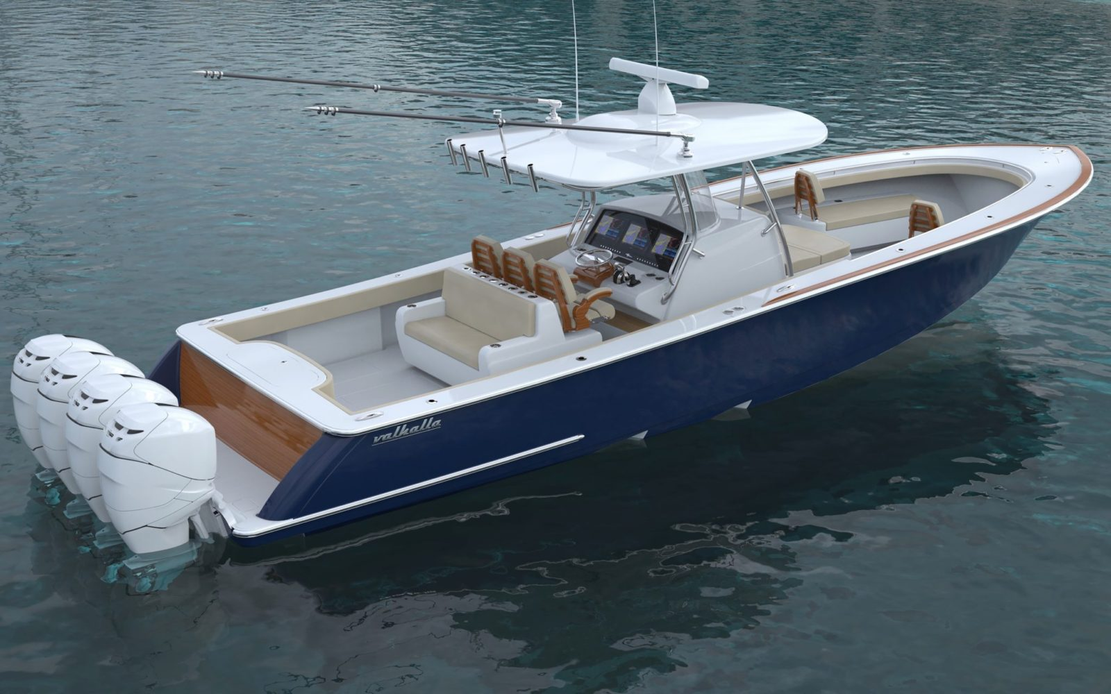 Luxury yacht for Sale | VALHALLA V-41 (New) by Valhalla Boatworks
