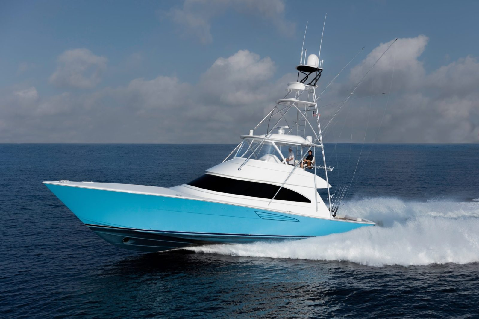 Luxury yacht for Sale | 58 Convertible by Viking Yachts